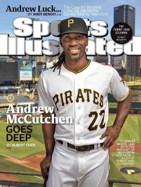 1. Andrew McCutchen size 11x14 photo