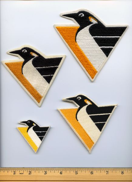 """(4) Pittsburgh Penguins small """"Pigeon"""" patches"""