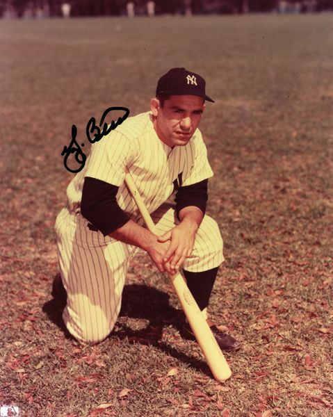 Yogi Berra - New York Yankees signed 8x10 photo