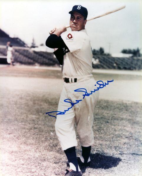 Duke Snider - Brooklyn Dodgers signed 8x10 photo