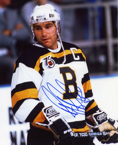 Ray Bourque - Boston Bruins signed 8x10 photo