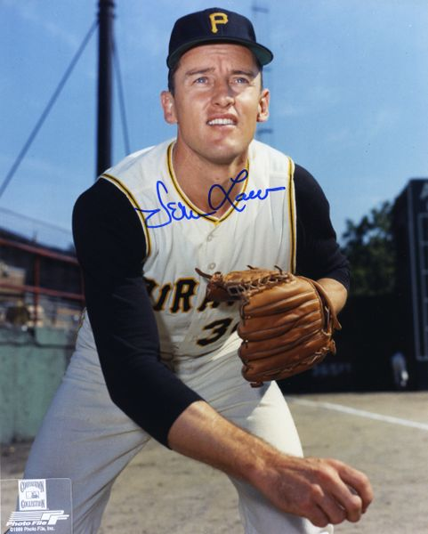 Vernon Law - Pittsburgh Pirates signed 8x10 photo