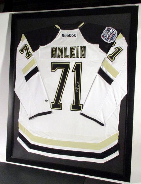 Evgeni Malkin - Pittsburgh Penguins, signed framed jersey ...