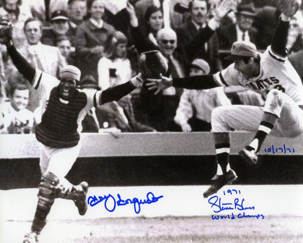 1971 Pittsburgh Pirates World Series signed 8x10 photo