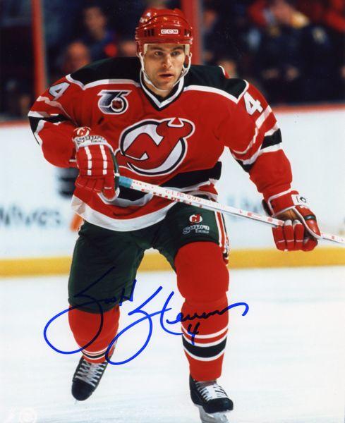 Scott Stevens - New Jersey Devils signed 8x10 photo