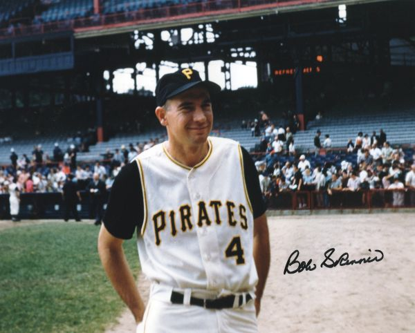Bob Skinner - Pittsburgh Pirates signed 8x10 photo