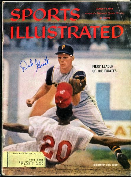 Dick Groat, Pittsburgh Pirates signed 1960 Sports Illustrated