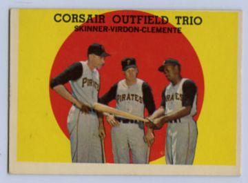 15. 1959 TOPPS BASEBALL CARD #543 - CLEMENTE