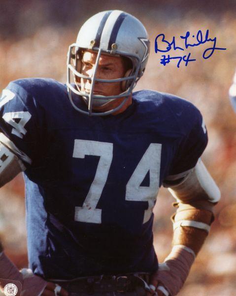 Bob Lilly - Dallas Cowboys signed 8x10 photo
