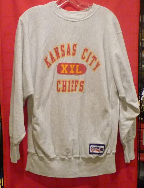 Vintage Kansas City Chiefs sweatshirt  4c2c0c3d1866