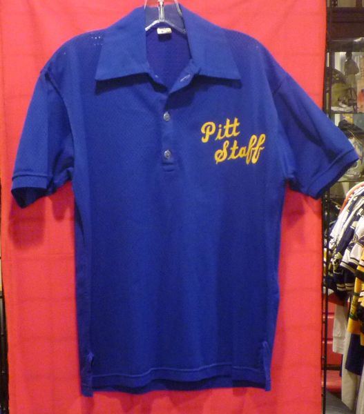 1980's Pitt Panthers Football Coach's sideline shirt