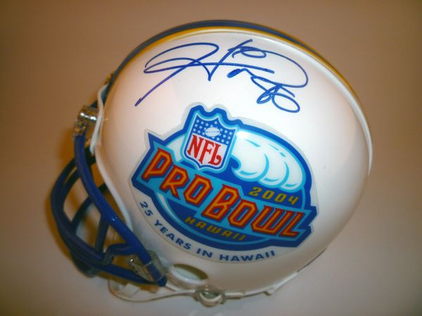 STEELERS - 2004 PRO BOWL SIGNED MINI HELMET
