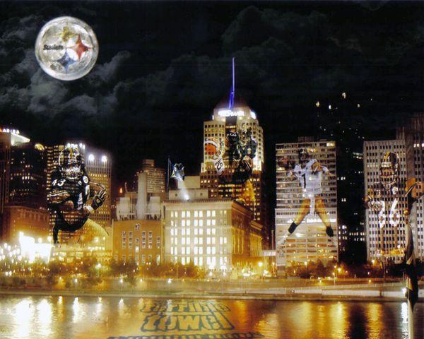 65. Steelers - Pittsburgh - Terrible Towel 11x14 photo