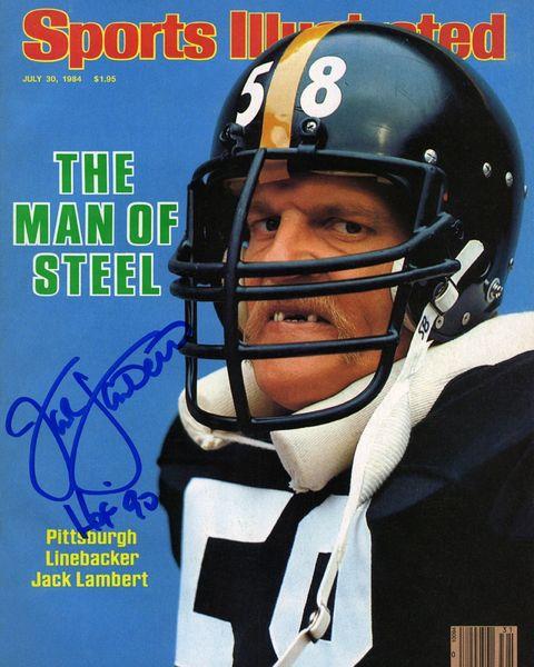 59. Jack Lambert Sports Illustrated 11x14 photo