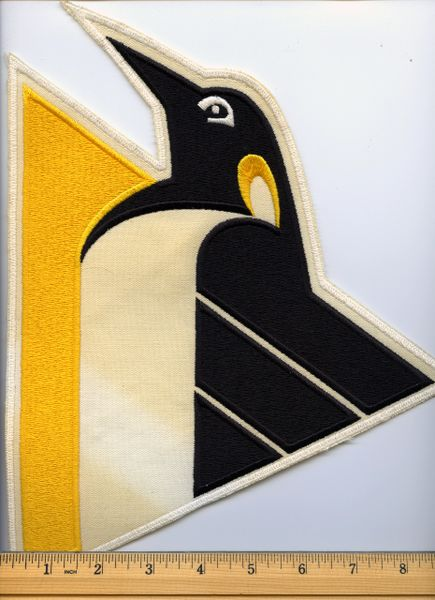 Pittsburgh Penguins large jersey crest patch 1992-93 style