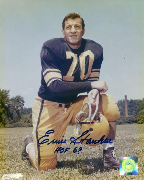 Ernie Stautner - Pittsburgh Steelers signed 8x10 photo