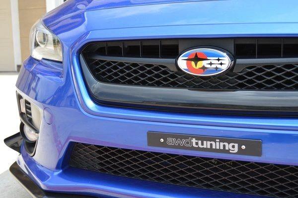 Subaru Colorado Flag Overlay Set Emblem Overlays