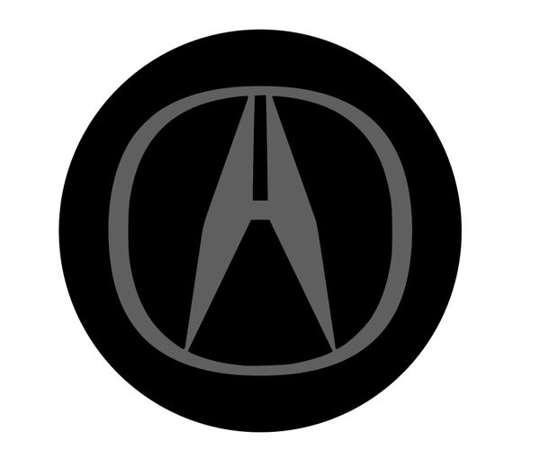 Acura Center Cap Overlays MM Emblem Overlays - Acura emblem