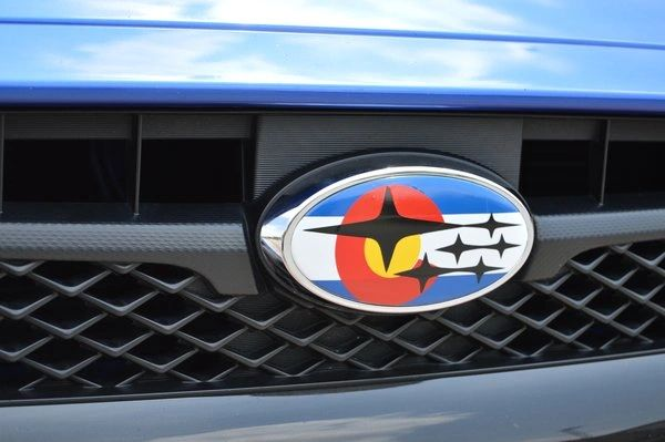 Subaru Colorado Flag Overlay Set | Emblem Overlays