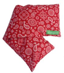 Back Log Natural Heat Pack, red bandana