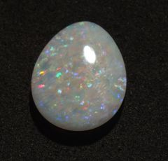 CO1-0003; Opal, White Base, Australia, Untreated