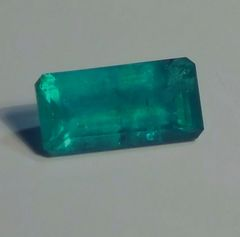 RB2-0006; Emerald, Brazil, Epo Resin Treated