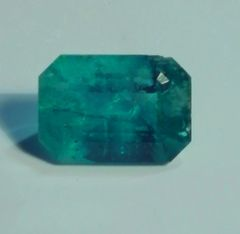 RB2-0016; Emerald, Colombian, Epo Resin Treated