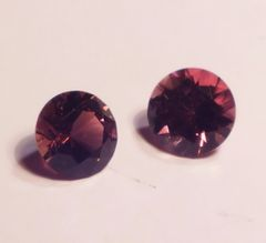RT2-0018; Pink Tourmaline Pair, Africa, Likely Heated
