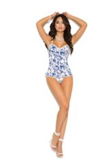 The Floral Bustier