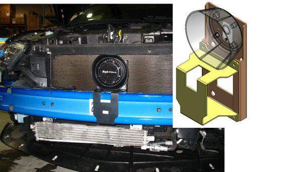 D&R DRCS110 BRACKET FORD INTERCEPTOR SEDAN BEHIND GRILL (NON ECOBOOST)