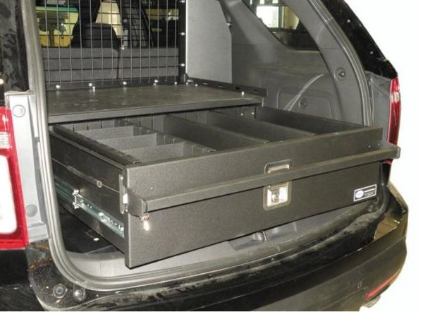 D&R SINGLE DRAWER SYSTEM POLICE INTERCEPTOR UTILITY