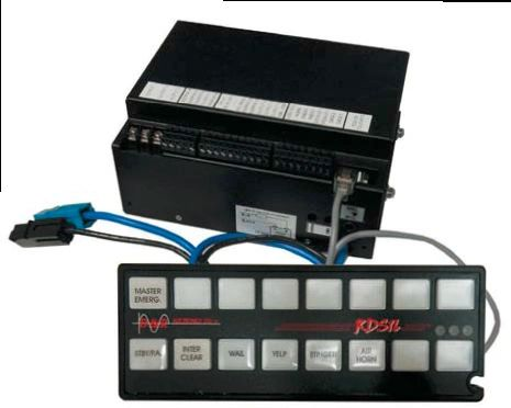 D&R RDS16S SIREN AND LIGHT CONTROLLER