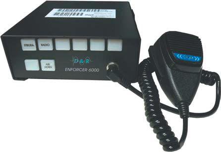 D&R ES6100 AIR HORN / PA
