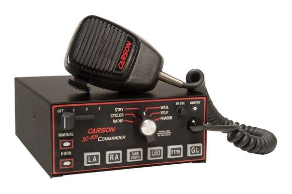 CARSON SC-409 COMMANDER SIREN AND LIGHT CONTROLLER