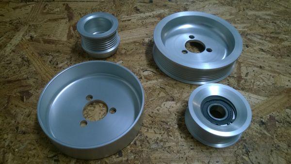 MK3 VR6 (AAA) Aluminum Pulley Kit