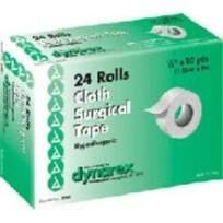"""Surgical Tape Cloth, 1/2""""x10 Yds"""
