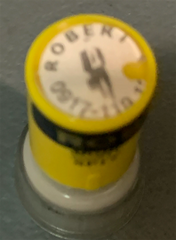 Round Name Stamp (small) 16mm