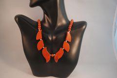 Red Jasper Pendant Necklace