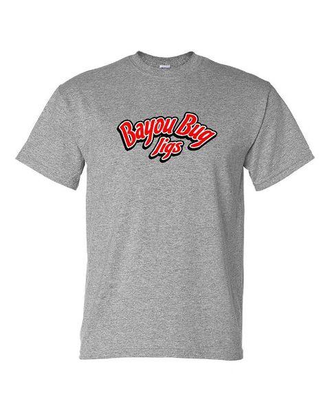 Bayou Bug Jigs Text Logo Tshirt