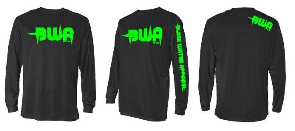 BWA Logo Long Sleeve Performnace Shirt
