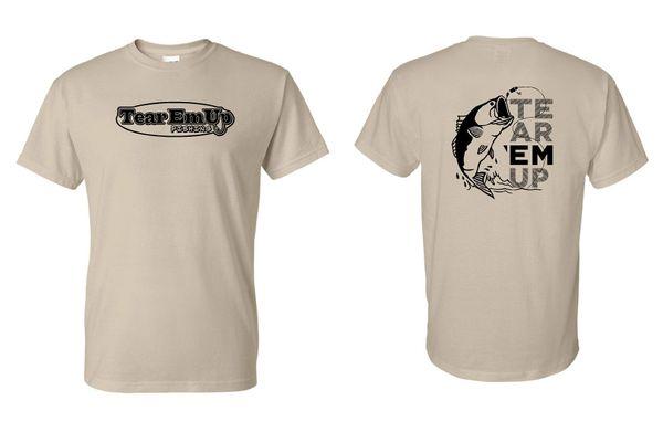 Tear 'Em Up Fishing Jitterbug Tshirt