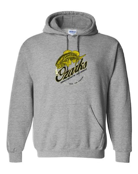 Ozarks Smallmouth Alliance New Logo Hoodie
