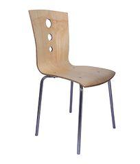 MBTC Stellar Kitchen Cafeteria Chair in Beige