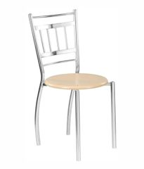 Cafeteria Chair In wooden Top
