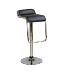 MBTC Airtel Kitchen Cafeteria Bar Stool Chair in Black