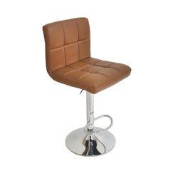 MBTC Cadbury Kitchen Cafeteria Bar Stool Chair in Beige