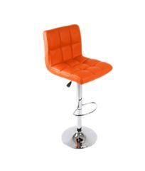 MBTC Cadbury Kitchen Cafeteria Bar Stool Chair in Orange