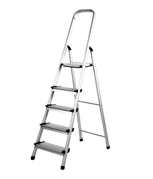 Giraffe Aluminium Ladder 4step + 1 Platform