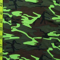 Lime Green Camo- Funky Leggz