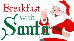 Breakfast with Santa - December 8th